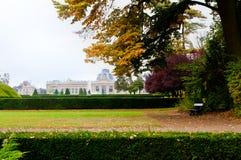 Park, Królewski muzeum dla afryki środkowej, Tervuren, Belgia Fotografia Royalty Free