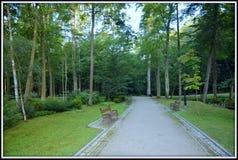 Park Kudowa Zdrój Poland Royalty Free Stock Photos