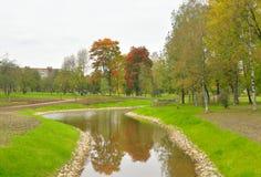Park Kurakina Dacha early autumn. Royalty Free Stock Photo