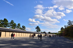 The park of Kyoto imperial palace, Japan. Stock Images