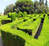 Park Labyrinth Royalty Free Stock Image