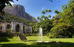 Park Lage and Corcovado Mountain Stock Photography