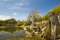 Park in Laguna Lizenzfreie Stockbilder