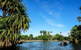 Park Lake, Argentina Stock Image