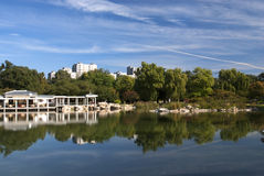 Park. Lake in a park, Beijing, China Stock Photography