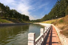 Park. Lake in a park, Beijing, China Royalty Free Stock Image