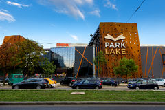 Park Lake Mall. In Bucharest, Romania Stock Photo