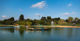 Park Lake Royalty Free Stock Images