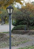 Park Lamp Post Stock Photos