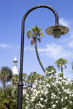 Park Lamppost Royalty Free Stock Photo
