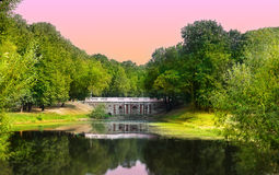 Park landscape Royalty Free Stock Photo