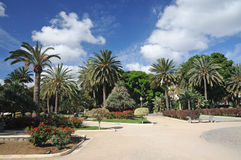 Park in Las Palmas, Spain Stock Photography