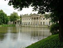 Park Lazienki in Warsaw Stock Image
