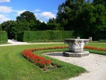 Park in Lednice lizenzfreie stockbilder