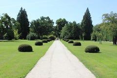 Park Lednice. Castle park, Lednice Castle, South Moravia,Czech Republic Royalty Free Stock Photos