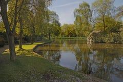 The Park at Leek Stock Image