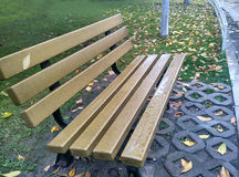 Park leisure bench Royalty Free Stock Images