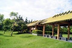 The park leisure pavilion Royalty Free Stock Photos