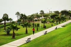 Park in Lima lizenzfreie stockbilder