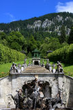 Park in Linderhof palace, Germany Royalty Free Stock Images