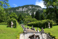 Park in Linderhof palace, Germany Stock Photos