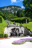 Park in Linderhof palace, Germany Stock Photo