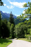Park in Linderhof palace, Germany Stock Images