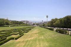 Park in Lisbon, Portugal Royalty Free Stock Image