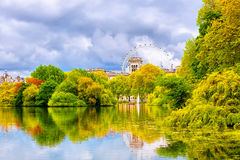 Park in London Stock Image