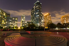 Park in Long Island City Stock Photo