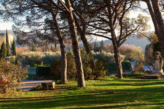 Park of Lourmarin Stock Images
