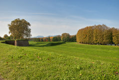 Park of Lucca, Tuscany. Italy Stock Photography