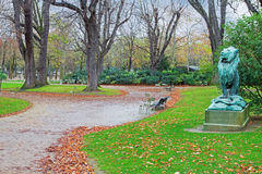 Park Luxembourg in Paris Stock Photography