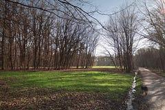 Park maksimir in Zagreb Royalty-vrije Stock Afbeelding