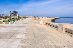 Park in the Malecon in Havana, Cuba Stock Photography
