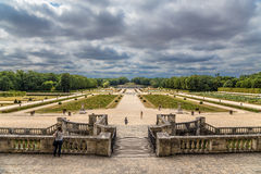 Park of the Manor of Vaux-le-Vicomte, France Royalty Free Stock Images