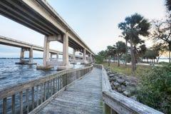 Park in Merritt Island. Florida stock photo