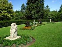 Park met verbazende tuin Royalty-vrije Stock Fotografie