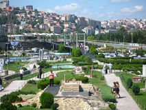 Park Miniaturk in Istanbul, Turkey Royalty Free Stock Photo
