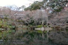 Park mit Wasser Stockfoto