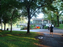 Park in Montreal, CanadÃ-¡ Lizenzfreie Stockfotos