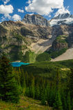 Park moraine See-Banffs Kanada Naitonal Lizenzfreie Stockbilder