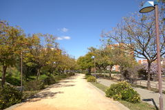 Park Moret, Spanien Lizenzfreies Stockfoto