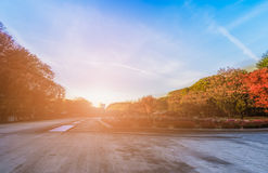 Park in the morning - Ueno - Japan Stock Image
