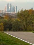 Park in Moskou Royalty-vrije Stock Afbeeldingen