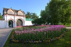 Park in Moskou Kolomenskoe Stock Afbeelding