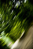 Park Motion. A background with a view of motion blur in a park Stock Photo