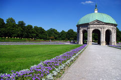 Park in the Munich Stock Image