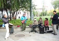park music band Stock Image
