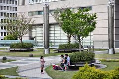 Park in Nagoya, Japan Stock Images
